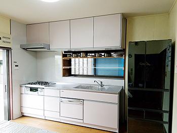 40年使用したキッチンから、今回も長持ちキッチンへリフォーム!