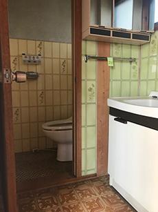 トイレがシックでモダンに!落ち着ける場所がひとつ増えました。