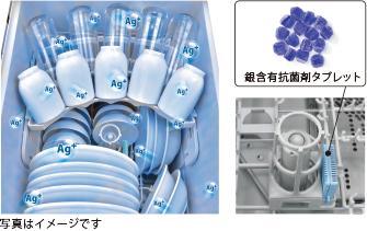 食器洗い乾燥機 銀イオン