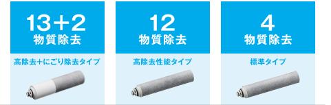 タカギ 浄水器 蛇口一体型浄水器