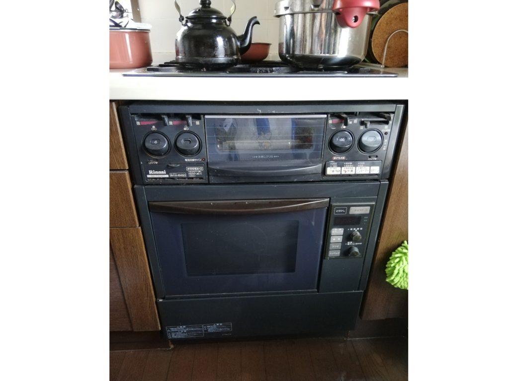 ビルトインオーブンを残してガスコンロをお取替え