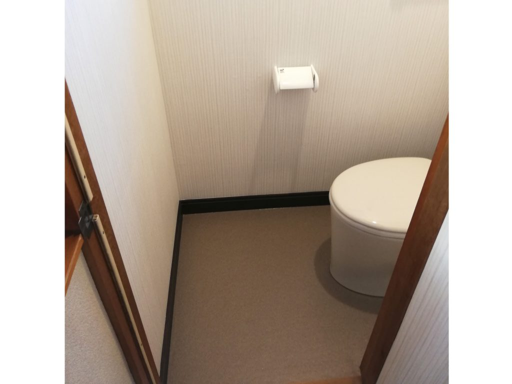 トイレ取替え 内装も一緒にリフォーム!