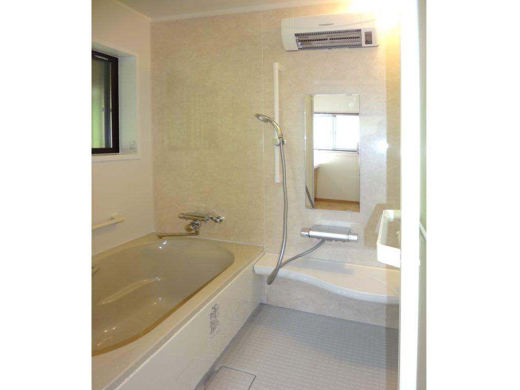 木桶のお風呂から、暖かなユニットバスにリフォーム!