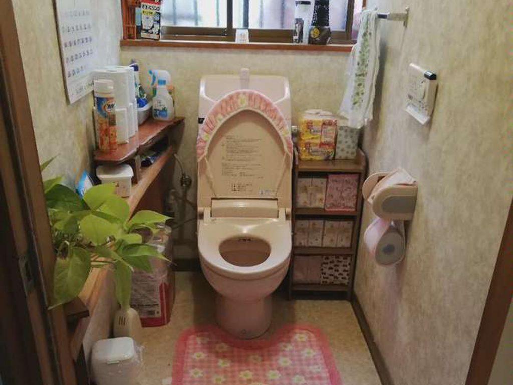 弊社イベントにご来場いただき、トイレのリフォームをさせていただきました