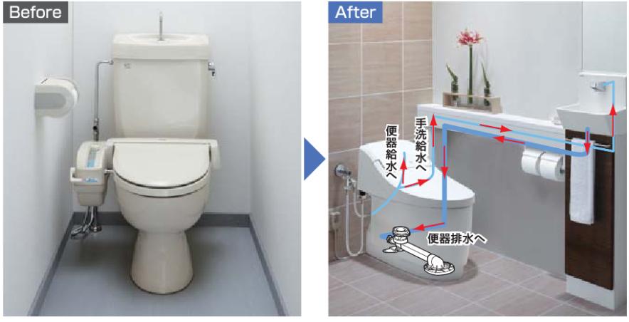 LIXILプレアスLSなら手洗い設置工事が簡単に出来る!?