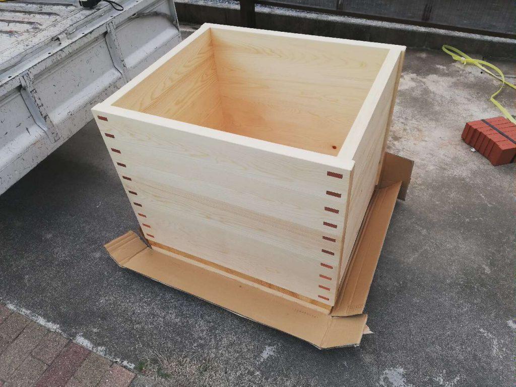 木の香りが心地よい♪木桶の浴槽をリフォーム