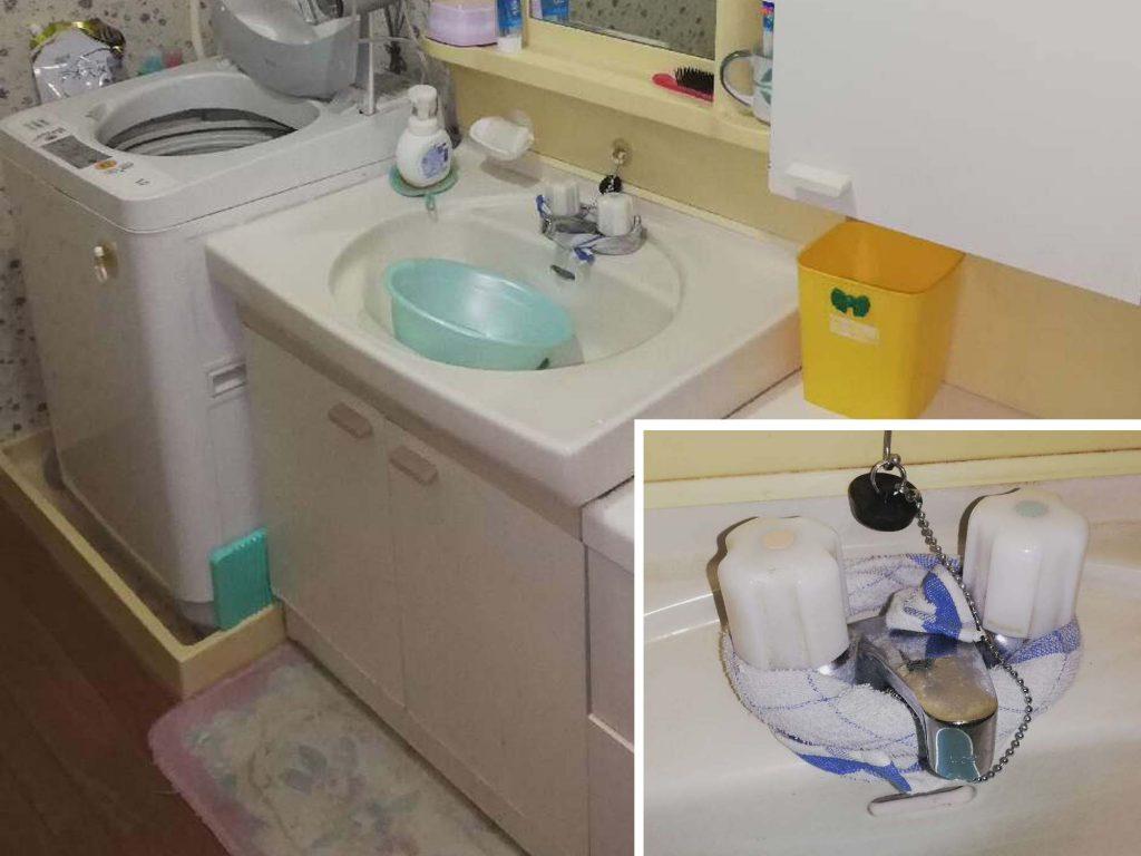 使いやすいシングルレバー水栓にお取替え