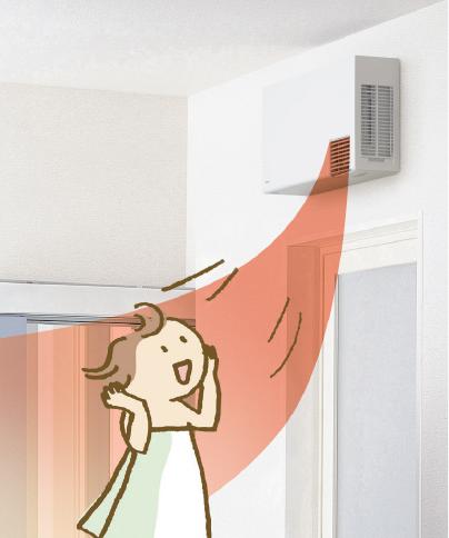 洗面所暖房機 TOTO 三乾王