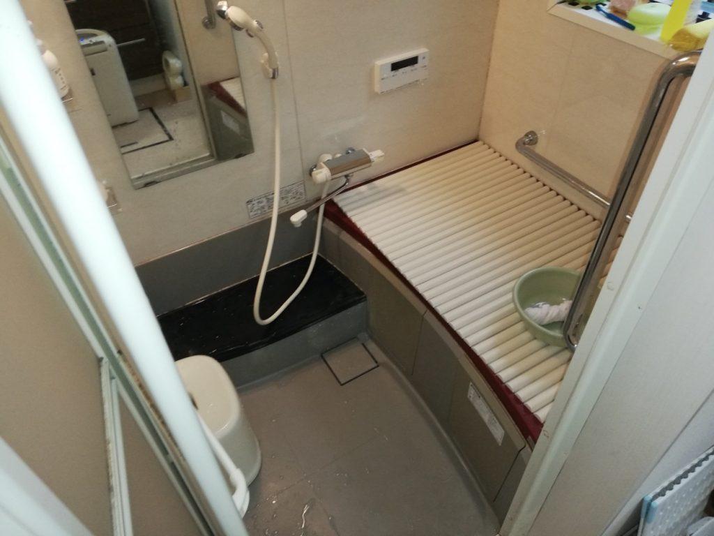 洗面脱衣場リフォーム ユニットバスも同時にお取替えしました