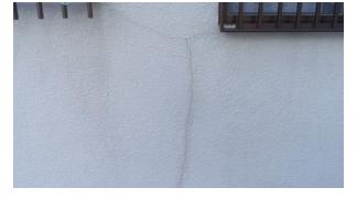 外壁塗装 外壁のひび割れ