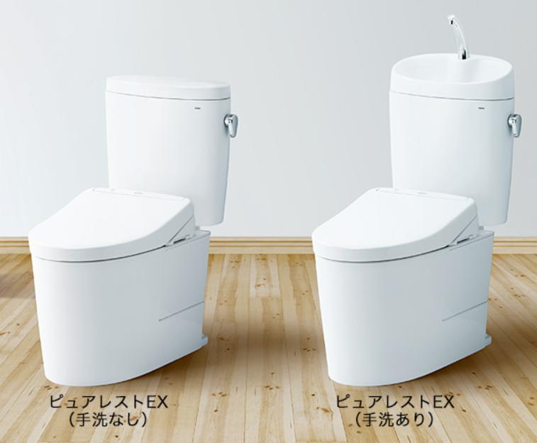 【最新設備の紹介】TOTOのトイレがリニューアルします「ピュアレストEX」