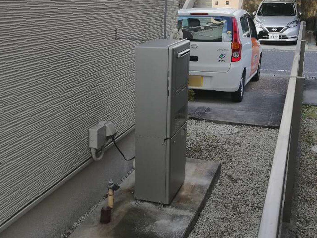 生活スタイルに合わせ、エコウィルからガス給湯器に取替えました