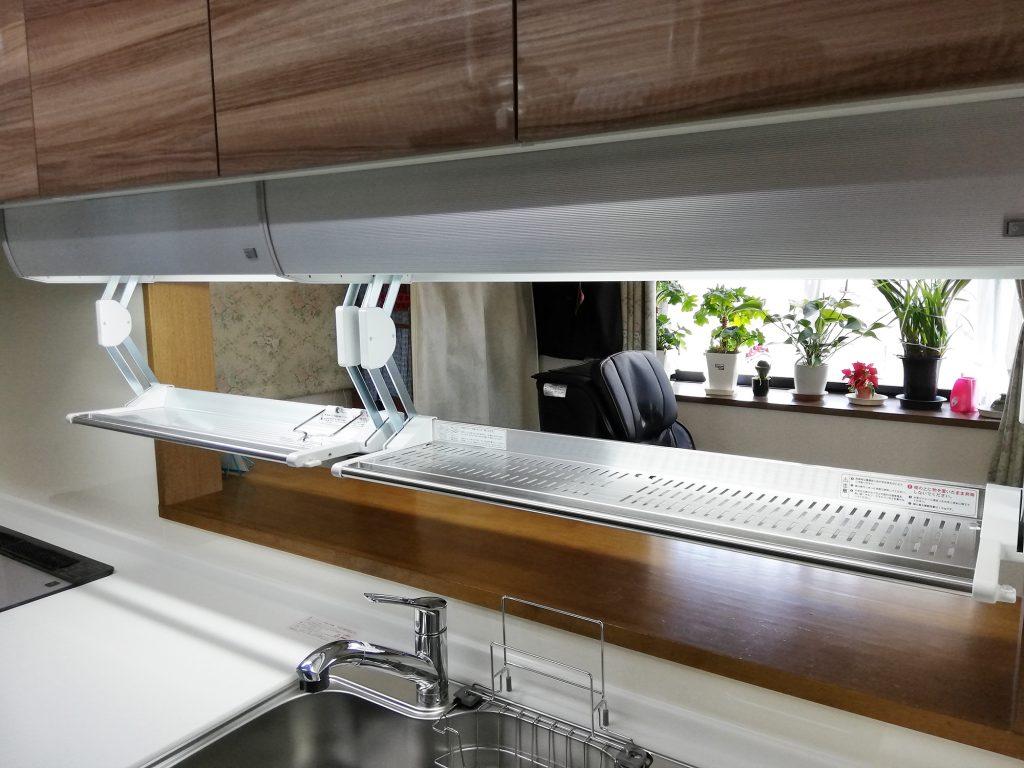 クリナップキッチン アイエリアボックスでスペースの有効利用を