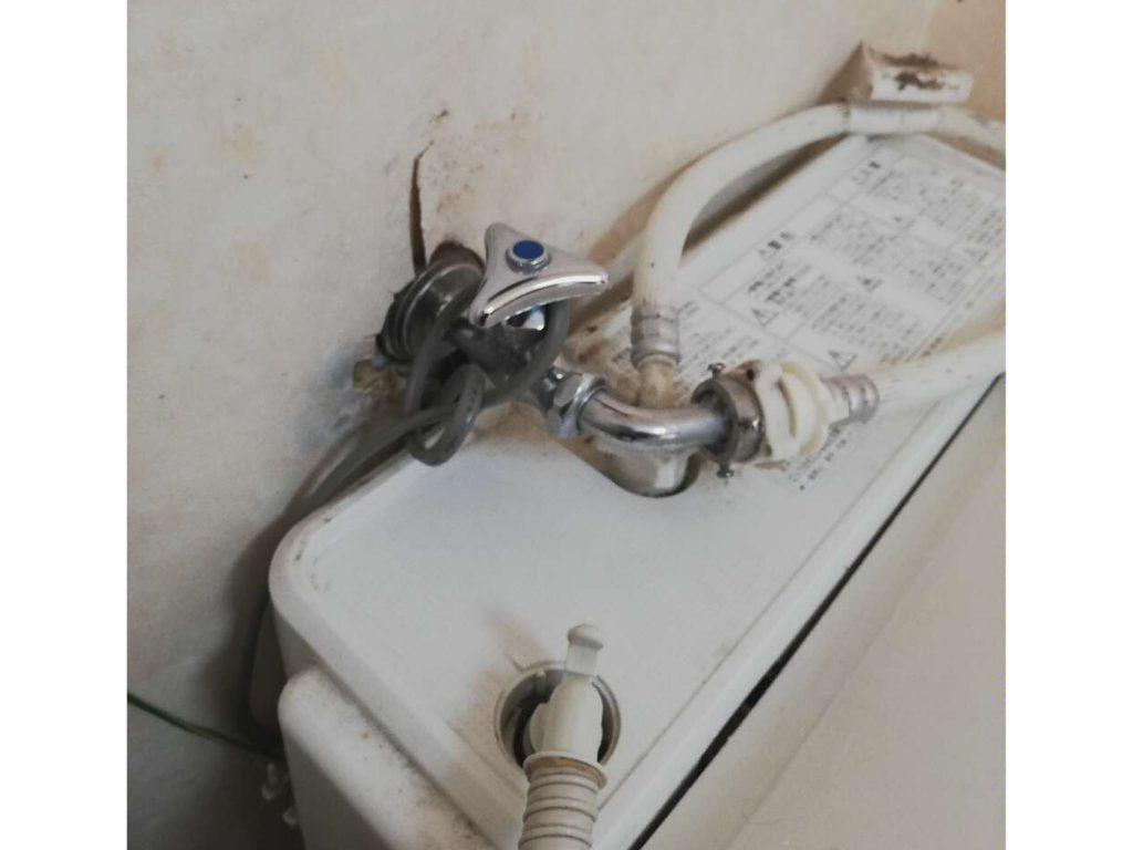 洗濯機用水栓お取替え