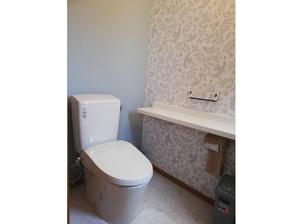トイレ取替え&内装リフォーム