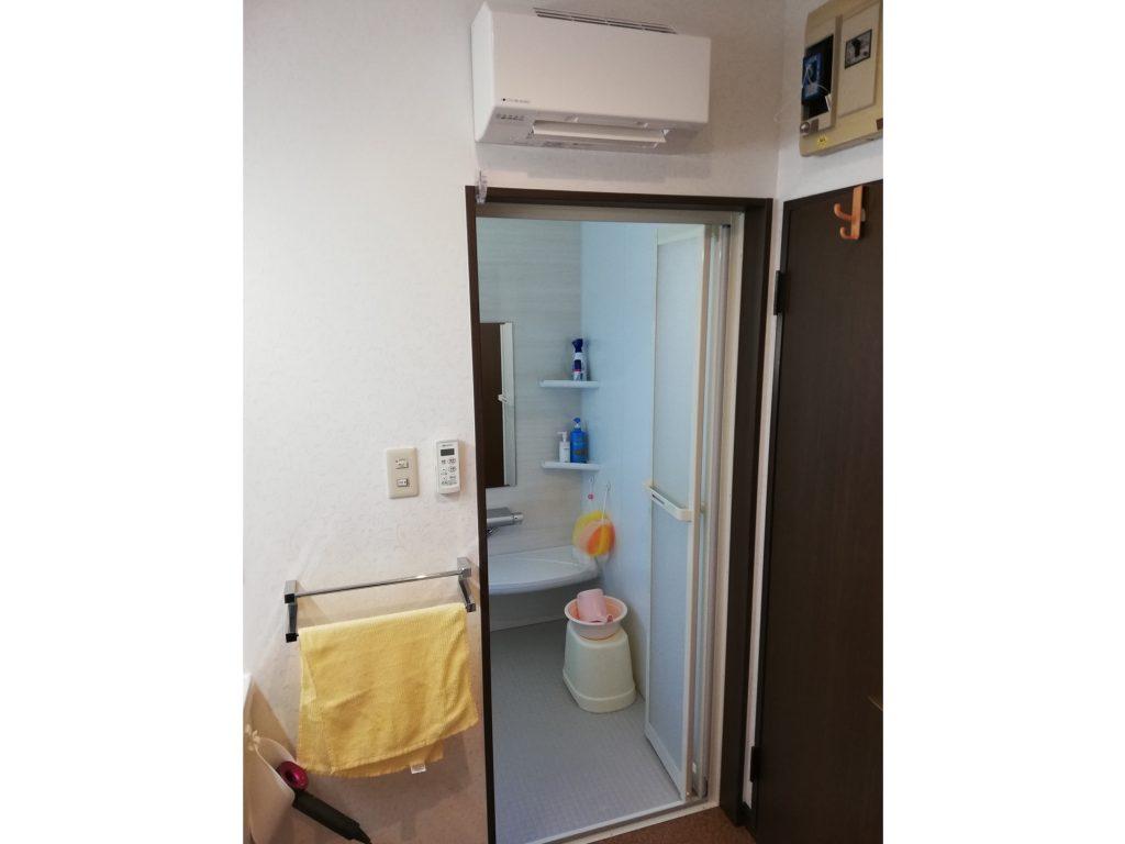 脱衣室用暖房で暖かく快適に!