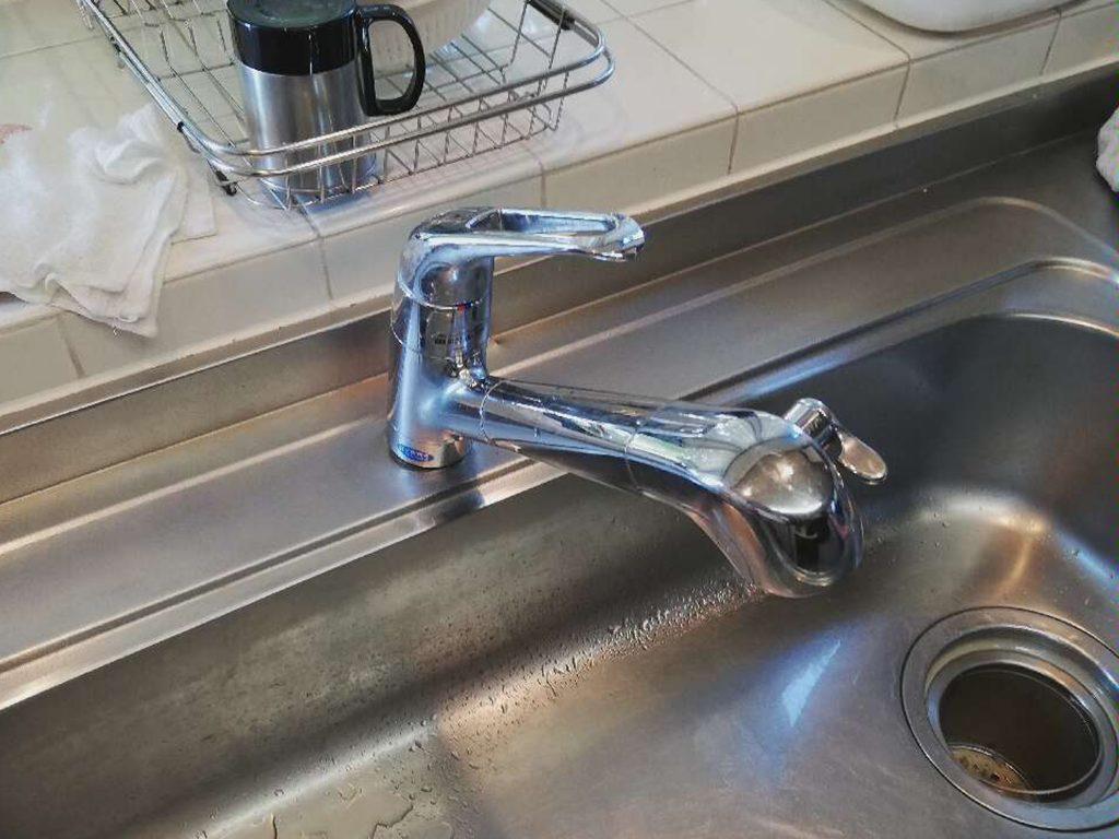 キッチン水栓 お取替え