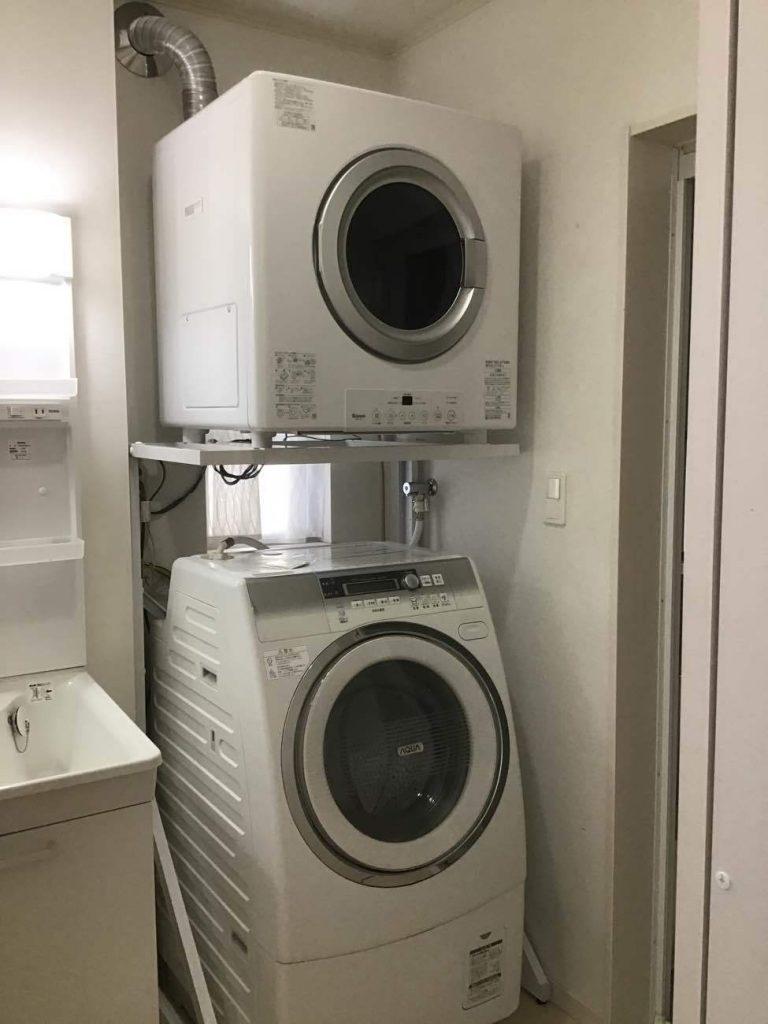 リンナイ衣類乾燥機「乾太くん」新規取付