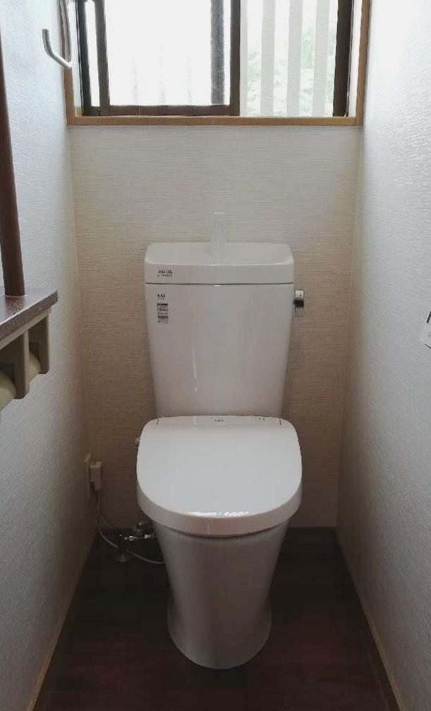 瞬間式トイレへお取替え