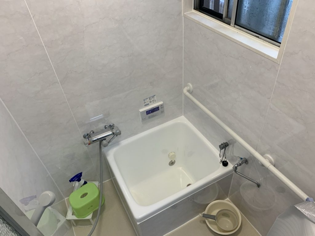 浴室全体をリニューアル!清潔感のある明るい浴室になりました