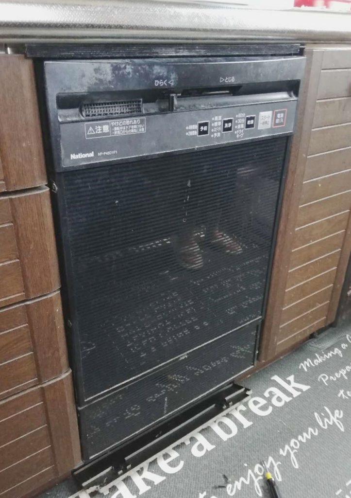 奥行60㎝対応パナソニック食洗機へお取替え