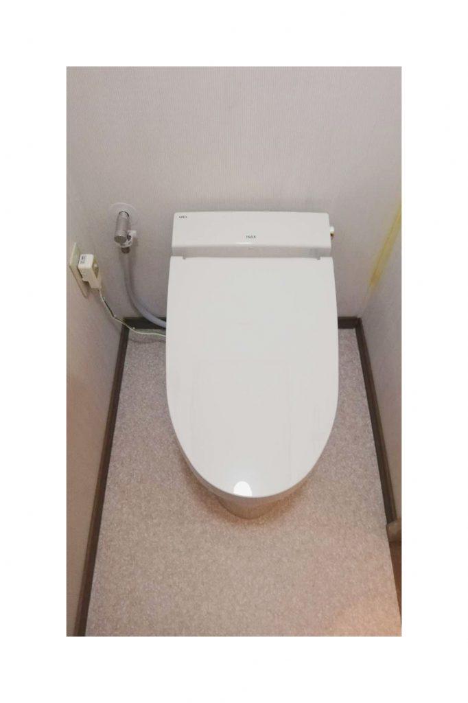 暖房機能付きトイレへお取替え♪LIXILサティスS