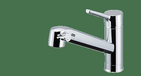 FSタイプ浄水器内蔵シングルレバー混合水栓