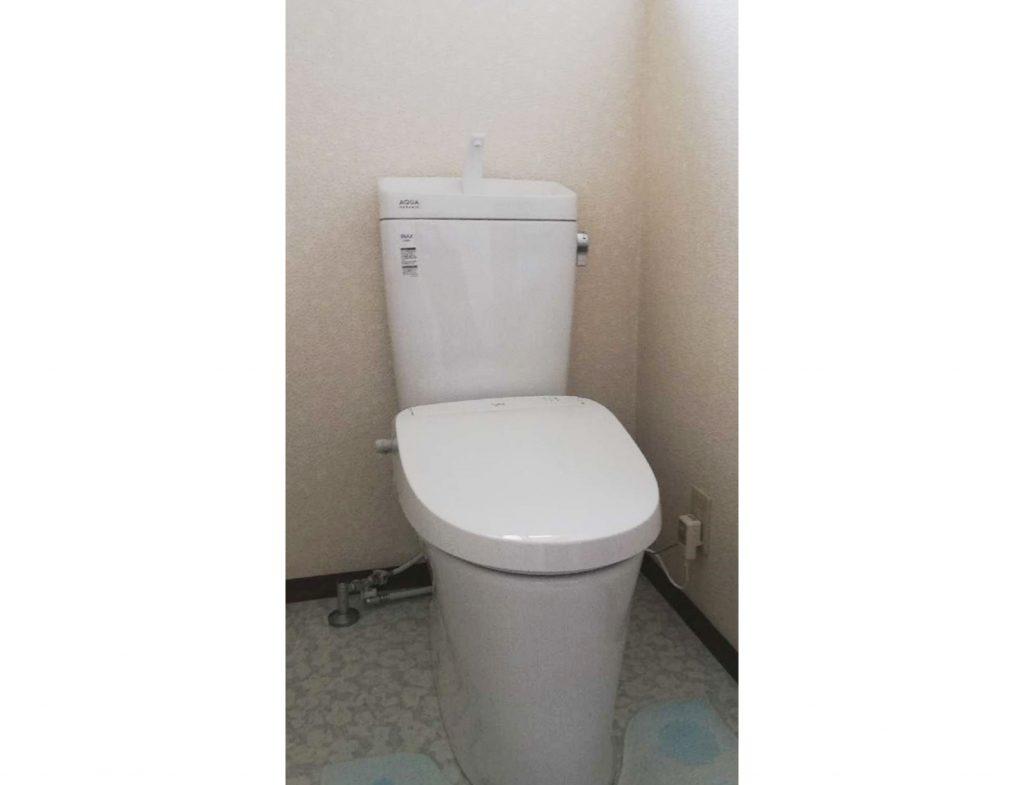 トイレお取替え♪