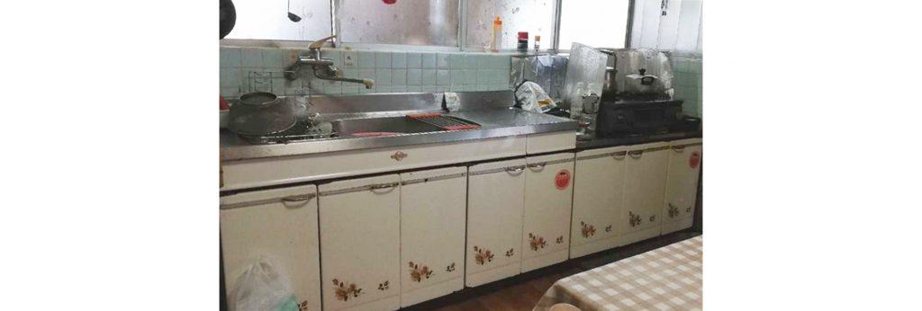 給湯配管からの水漏れがきっかけに!システムキッチン&洗面台お取替え