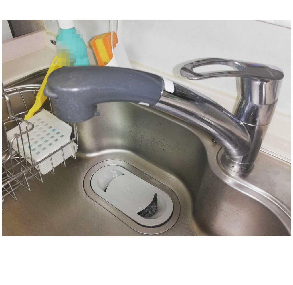 台所水栓お取替え