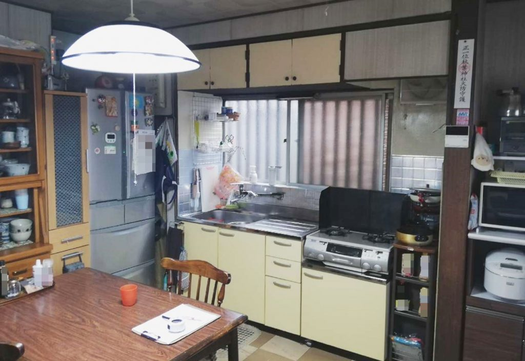 「タカラスタンダード」システムキッチンへお取替え!