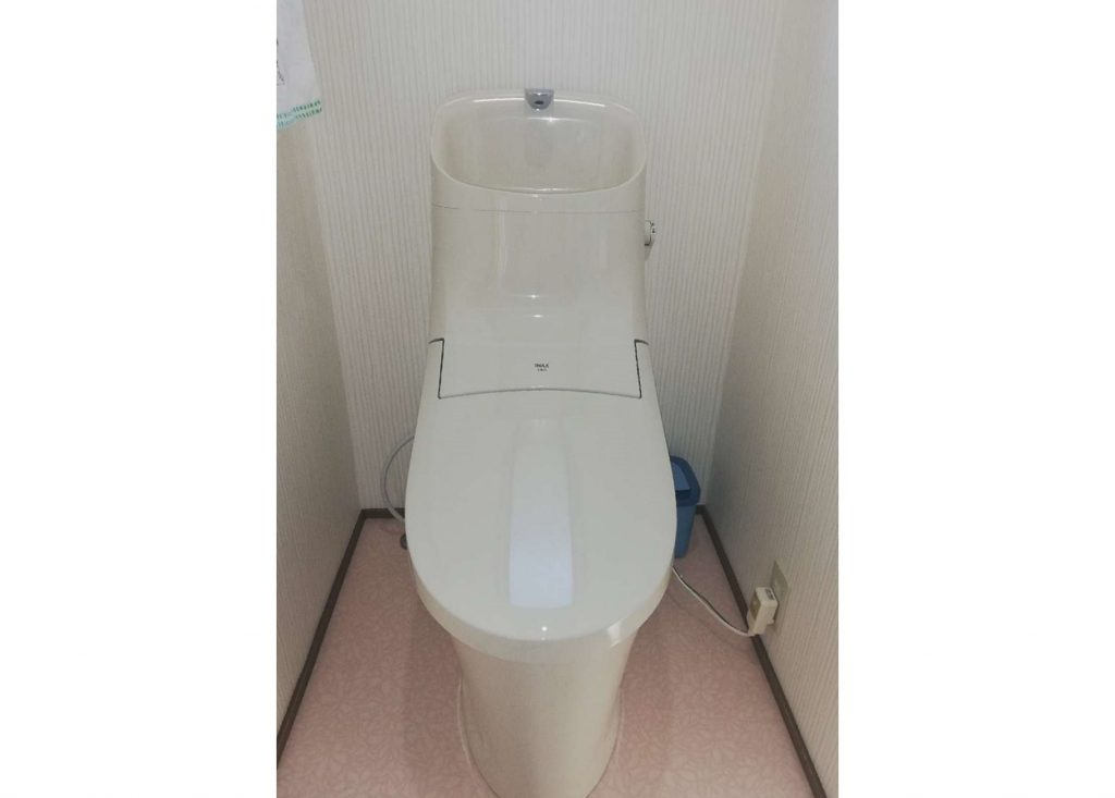 LIXIL一体型トイレへお取替え