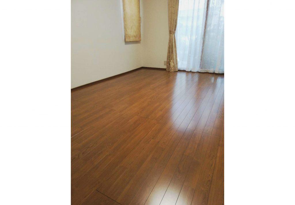床暖房でお部屋も心もぽかぽかになりました♪