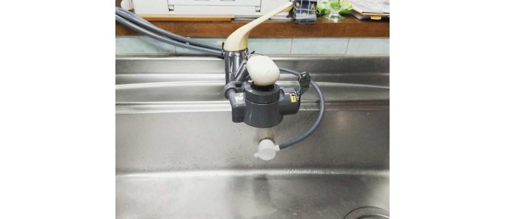 水漏れが原因でお取替え!水廻り&キッチン廻り