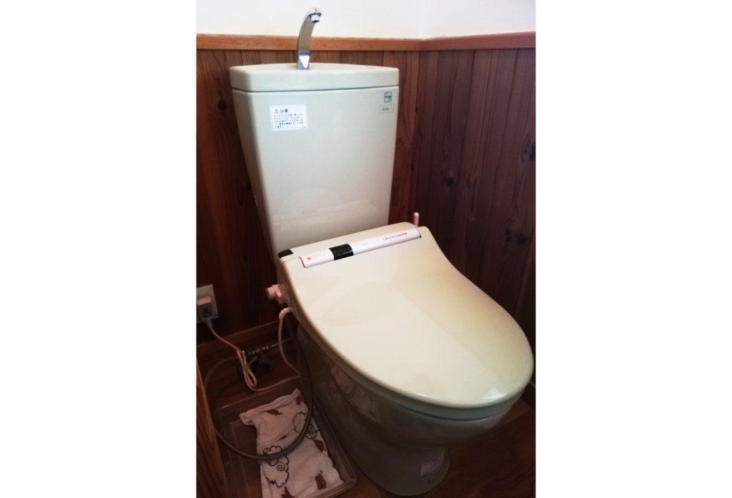 水漏れがきっかけ!トイレのお取替え