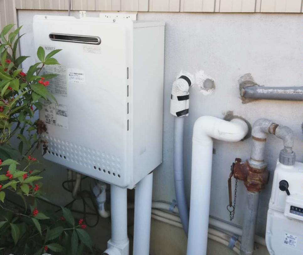 エコジョーズ給湯器へお取替え