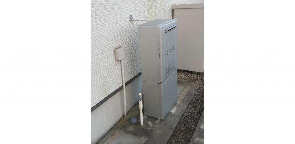 10年以上使用エコウィルから暖房給湯器へお取替え!