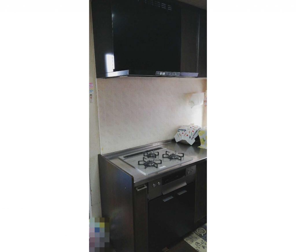 キッチン設備をお取替え♪便利機能で料理も楽しくなりました!