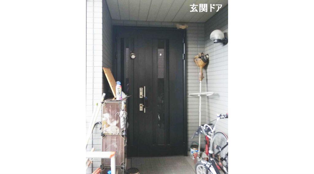 明るい雰囲気のお家にしたい!外壁塗装と玄関ドアのお取替え♪