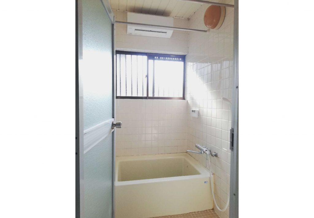 洗濯物が短時間で完了!浴室にガス浴暖を設置しました