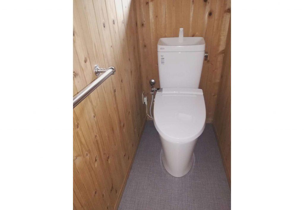介護保険を利用して1階・2階のトイレが新しく生まれ変わりました!
