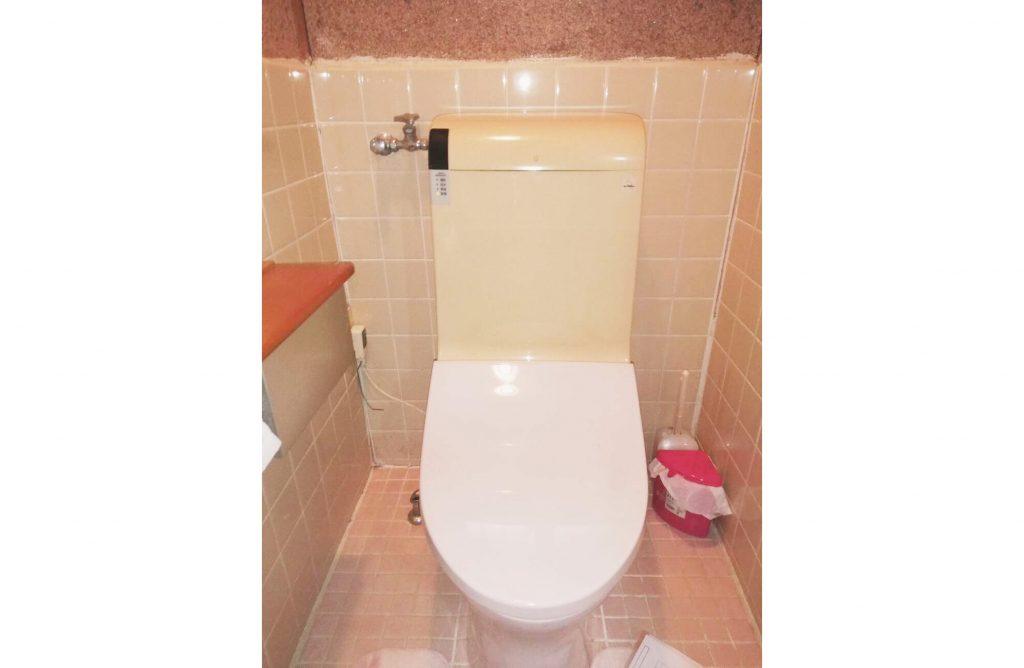 見た目がスッキリ!ロータンク式トイレ「プレアスLS」のお取替え♪