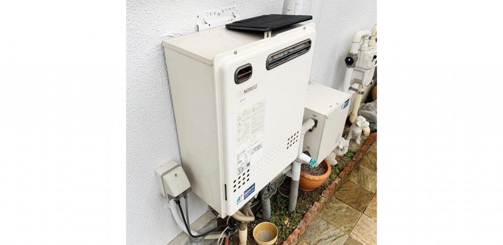 エコジョーズタイプの給湯器へ取り替えてガス代を節約♪