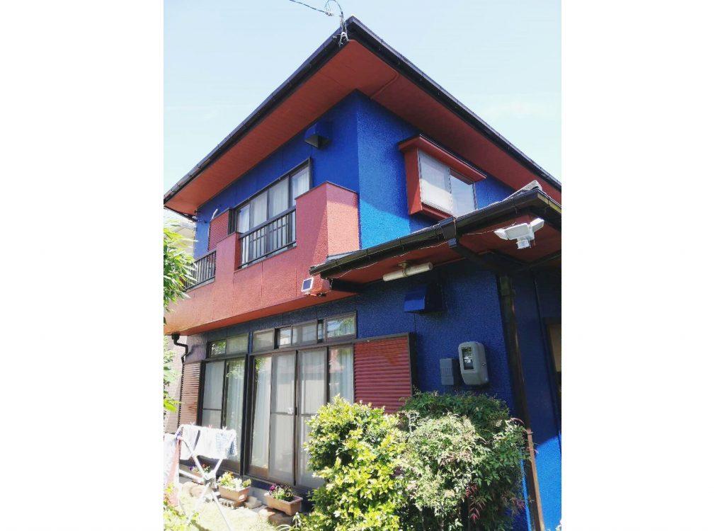 外壁塗装工事と合わせて、金属屋根カバー工法で屋根施工致しました♪