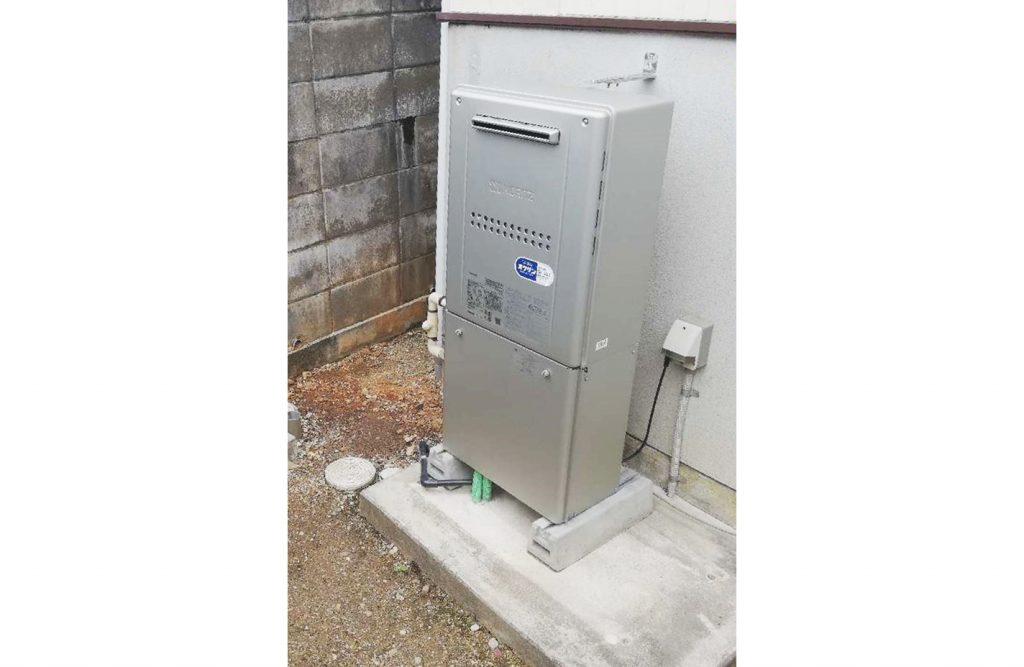 給湯器から水漏れ!エコキュートからガス給湯器へのお取替え♪