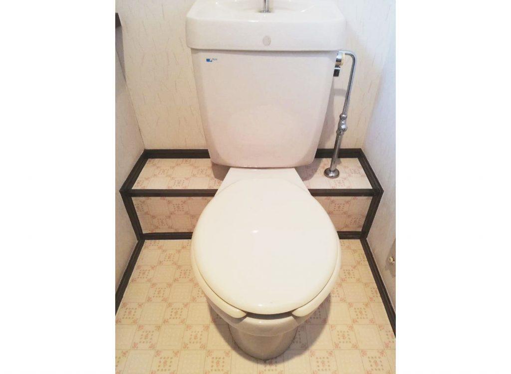水漏れがきっかけでトイレをお取替え♪