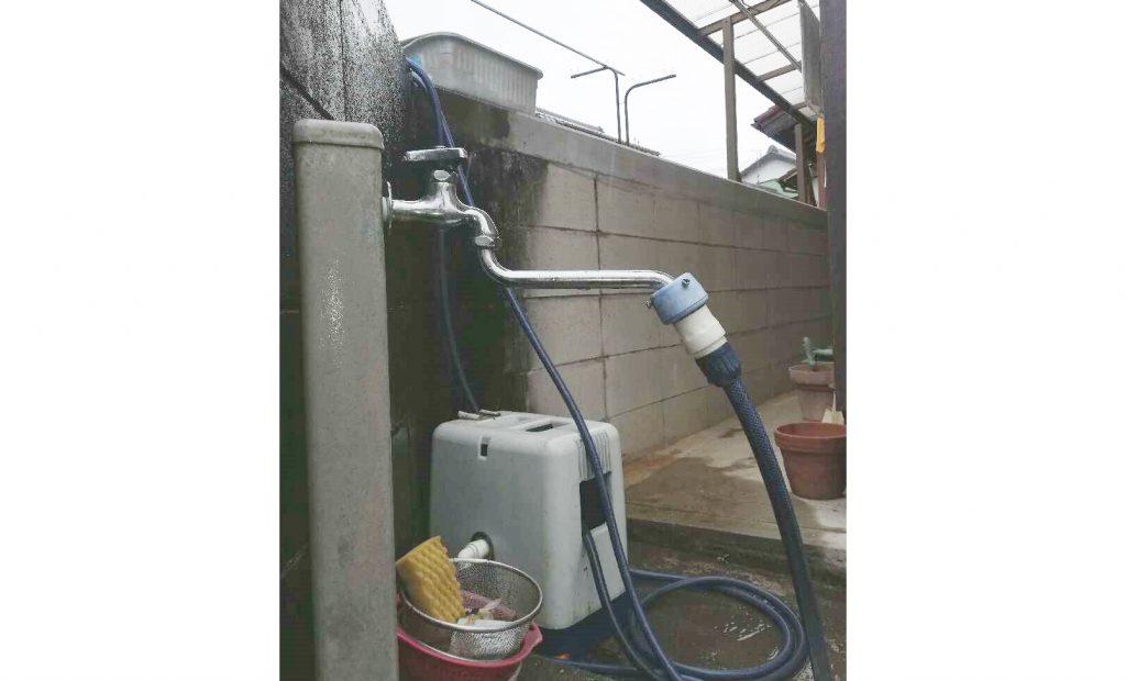水漏れがきっかけ!屋外水栓のお取替え