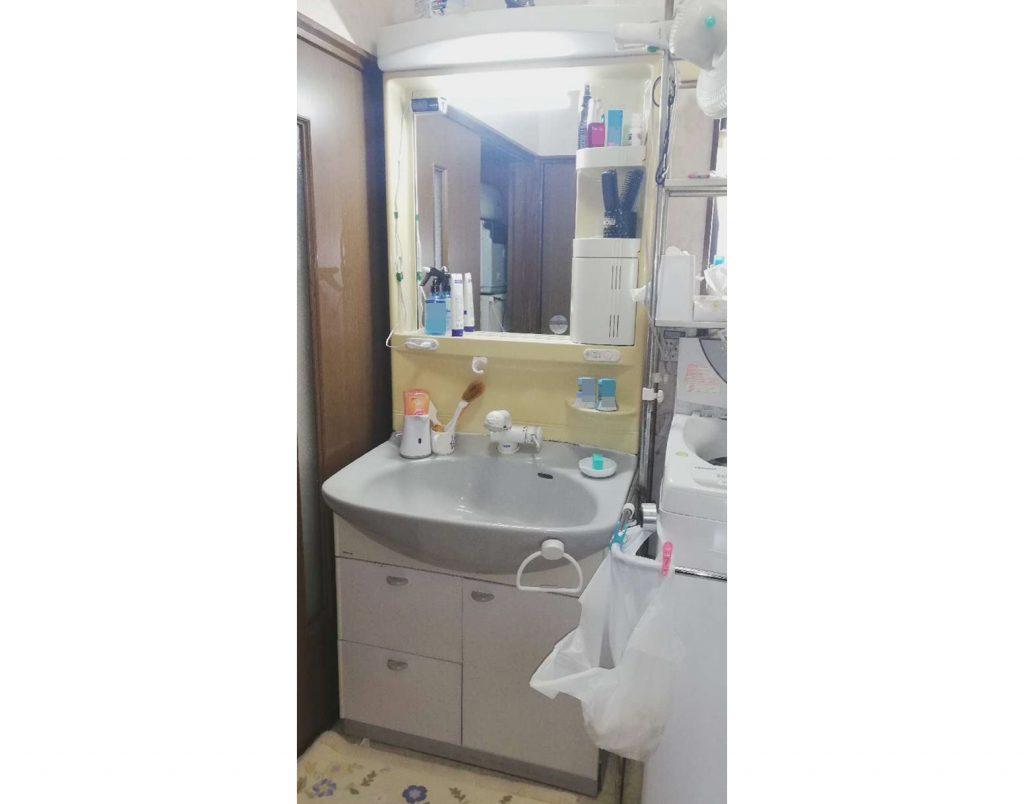 洗面ボウル広々♪使いやすい洗面台「LIXIL ピアラ」