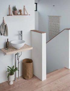 LIXIL どこでも手洗い 階段