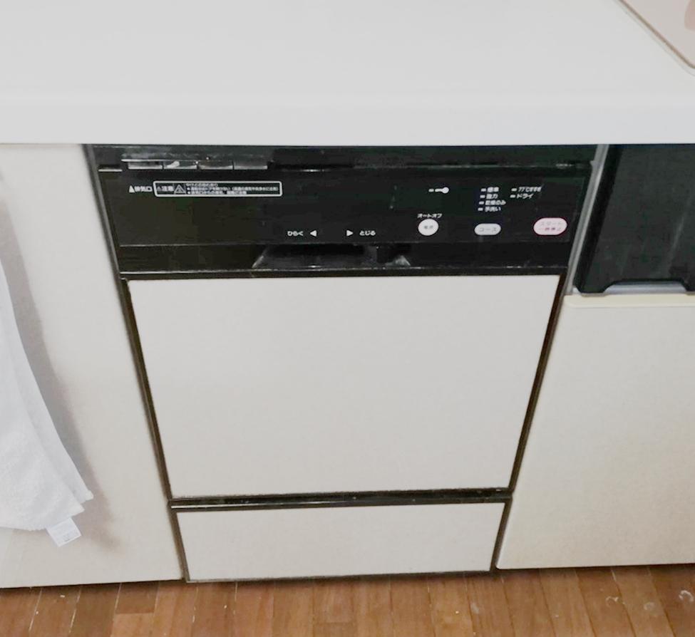 フロントオープンからスライドオープンへお取替え!パナソニック食洗機